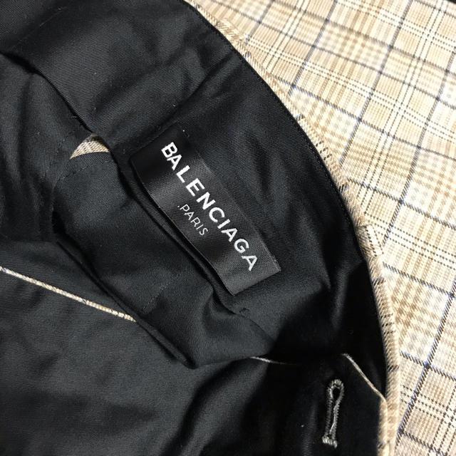 Balenciaga(バレンシアガ)のbalenciaga 17ss 44 ハーフパンツ チェック ベージュ  メンズのパンツ(スラックス)の商品写真