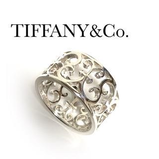 Tiffany & Co. - ティファニー エンチャント バンド リング シルバー 透かし