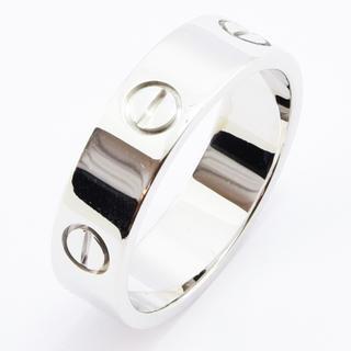 カルティエ(Cartier)のカルティエ リング ラブリング K18WG 750 #61 約20号 (リング(指輪))