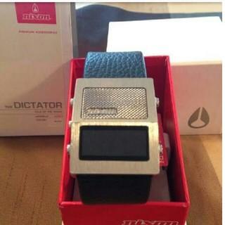 ニクソン(NIXON)の激レア nixon 録音時計(腕時計(デジタル))
