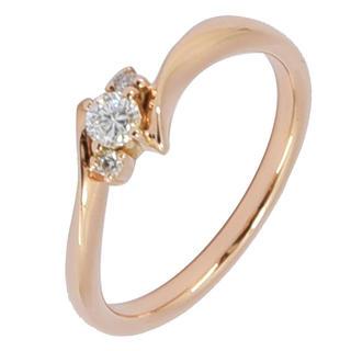 4℃ - ヨンドシー リング 4℃ 指輪 ダイヤモンド ダイヤ K18PG 750