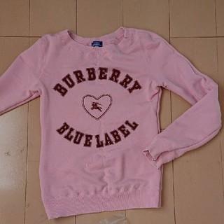 バーバリーブルーレーベル(BURBERRY BLUE LABEL)のBURBERRY BLUELABEL*トレーナー(トレーナー/スウェット)