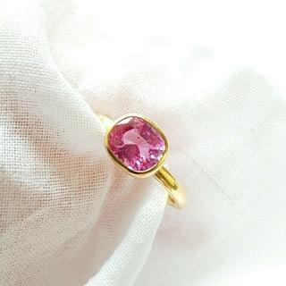 ドゥロワー(Drawer)のマリーエレーヌドゥタイヤック ピンク サファイヤ リング 指輪(リング(指輪))