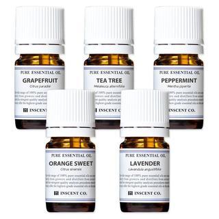 アロマオイル 5本セット 5種類の香り