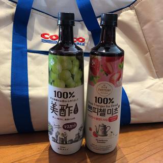 コストコ(コストコ)の美酢 マスカット&いちごジャスミン(ソフトドリンク)
