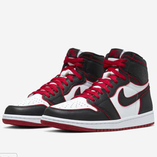 "ナイキ(NIKE)のNIKE AIR JORDAN 1 HIGH OG ""BLOODLINE""(スニーカー)"