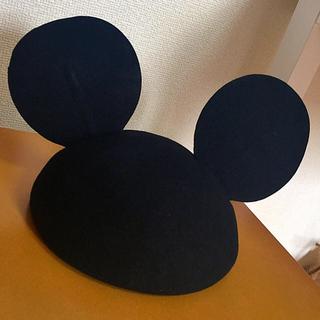 ディズニー(Disney)のディズニー ミッキー ベレー帽 残り1つ(ハンチング/ベレー帽)