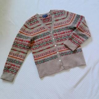 Ralph Lauren - 編み込み模様のカーディガン✳ラルフローレン