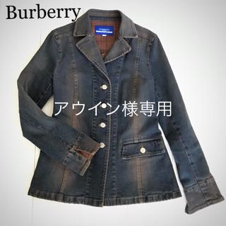 BURBERRY BLUE LABEL - Burberry ジャケット バーバリーGジャン ジーンズジャケット