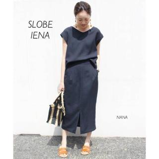 IENA SLOBE - 316. SLOBE IENA リネンライクブラウス×スカートセットアップ