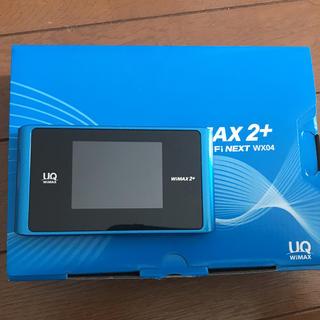 エヌイーシー(NEC)のWiMAX ポケットWiFi WX04(PC周辺機器)