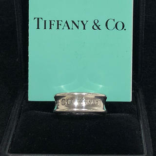 Tiffany & Co. - TIFFANY&Co. 1837シルバーリングティファニー