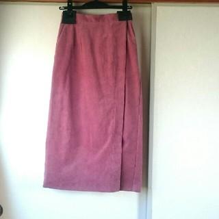 ROSE BUD - ローズバッド コーデュロイロングタイトスカート