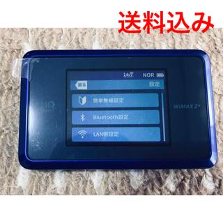 エヌイーシー(NEC)の【美品】モバイルルーター speed wi-fi next WX03(PC周辺機器)