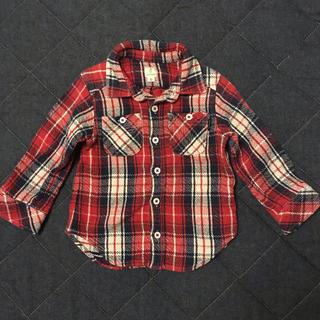 ユナイテッドアローズ(UNITED ARROWS)のユナイテッドアローズ☆チェックシャツ☆size95(Tシャツ/カットソー)