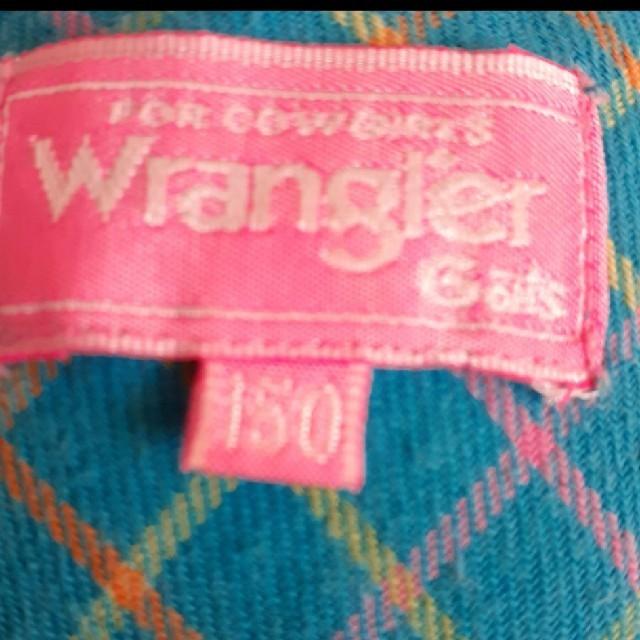 Wrangler(ラングラー)のWranglerトップス キッズ/ベビー/マタニティのキッズ服女の子用(90cm~)(ブラウス)の商品写真