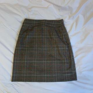 セシルマクビー(CECIL McBEE)のCECIL Mc BEE チェックスカート(ひざ丈スカート)