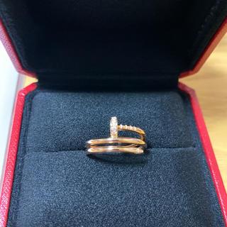カルティエ(Cartier)のカルティエ ジュストアンクル リング ダイヤ(リング(指輪))