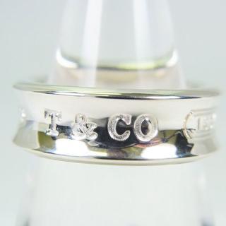 Tiffany & Co. - ティファニー 925 ナロー 1837 リング 11号[g97-1]