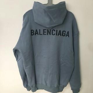 Balenciaga - Balenciaga パ一力ー  新品未使用  ブルー  M