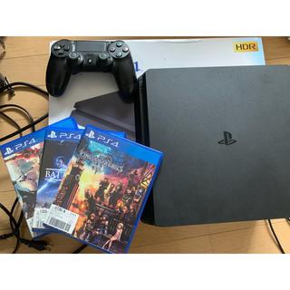 PlayStation4 - PlayStation4格安セット、モンハンも付いてます