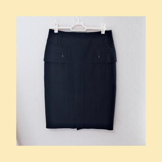ボディドレッシングデラックス(BODY DRESSING Deluxe)の【BODY DRESSING deluxe】ジップデザインタイトスカート(ひざ丈スカート)
