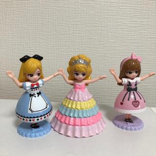 Takara Tomy - マクドナルド🎀ハッピーセット🍔🍟リカちゃんお人形さんセット