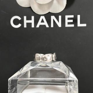 シャネル(CHANEL)の正規品 シャネル 指輪 SV925 アルファベット シルバー リボン リング 銀(リング(指輪))