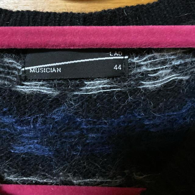 LAD MUSICIAN(ラッドミュージシャン)のLAD MUSICIAN モヘアニット44 メンズのトップス(ニット/セーター)の商品写真