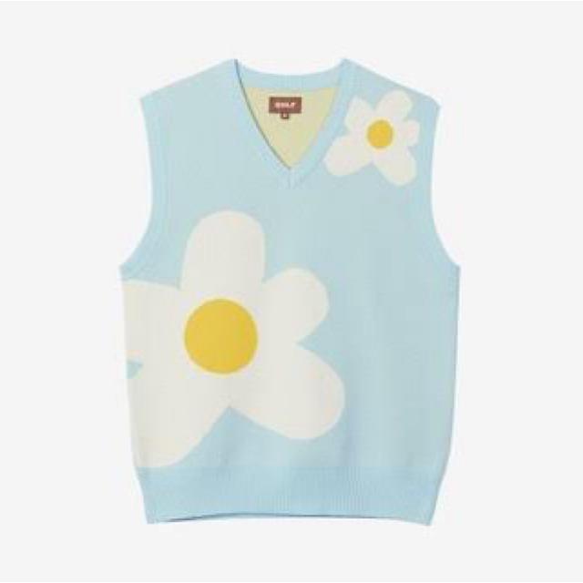 GOLF LE FLEUR WANG Sweater Vest メンズのトップス(ベスト)の商品写真