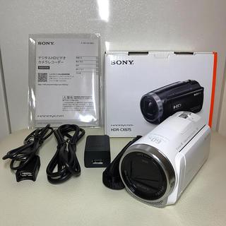 SONY - フルハイビジョンハンディカム SONY HDR-CX675