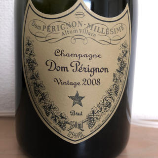 ドンペリニヨン(Dom Pérignon)のドンペリニヨンビンテージ2008(ワイン)