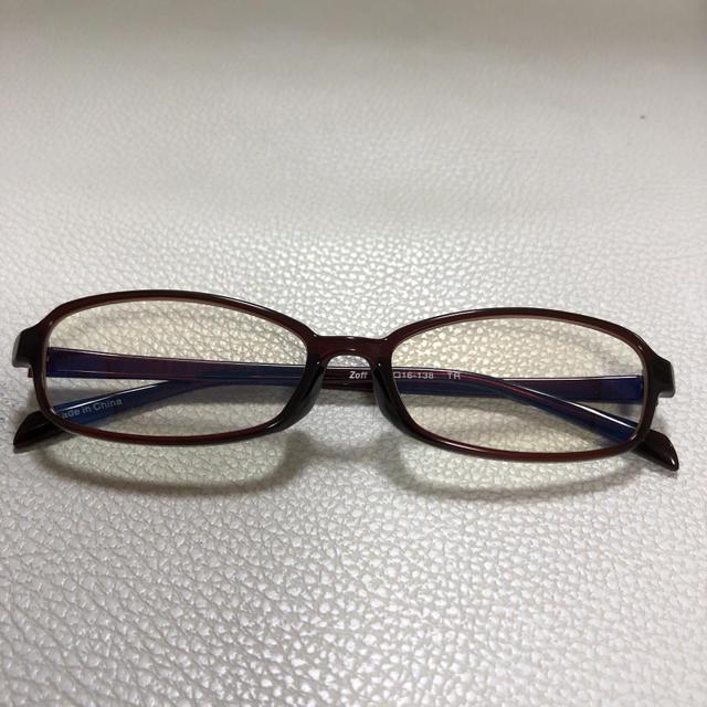 Zoff(ゾフ)のzoff ブルーライトカットメガネ レディースのファッション小物(サングラス/メガネ)の商品写真