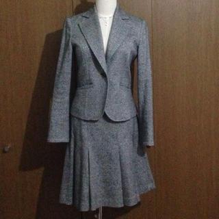 ナチュラルビューティーベーシック(NATURAL BEAUTY BASIC)のツィード スーツ セット(スーツ)