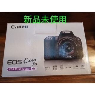 Canon - 新品未使用 CANON EOS Kiss X9 EF-S18-55 IS STM