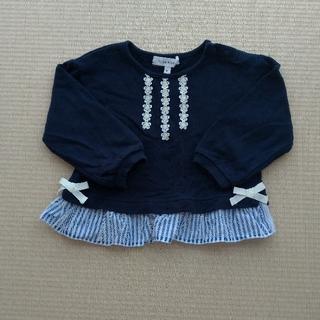 サンカンシオン(3can4on)のベビー服 女の子 80(トレーナー)