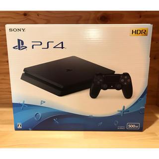 PlayStation4 - 【新品未開封】プレステ4 ジェットブラック 500GB CUH-2200AB01