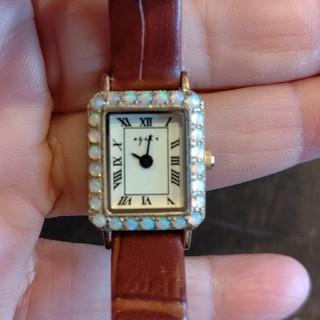 agete - アガットオパール腕時計