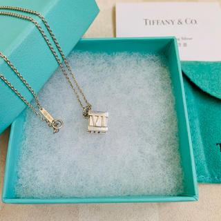 Tiffany & Co. - 《ティファニー 》アトラスキューブネックレス
