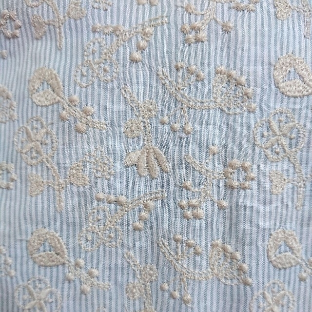 mina perhonen(ミナペルホネン)のC&S field of flower/stripe grayish blue レディースのレディース その他(その他)の商品写真