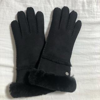 アグ(UGG)のUGG 手袋 ブラック(手袋)