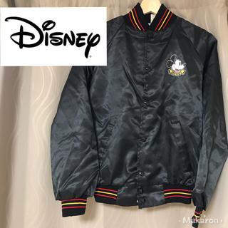 ディズニー(Disney)のUSA製 90年代 ミッキーマウス スタジャン(スタジャン)