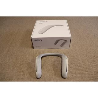 SONY - SONY SRS-WS1 美品 付属品あり ソニー ネックスピーカー