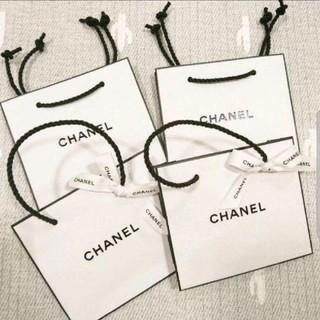 CHANEL - シャネル ショッパー ショップ袋 4枚 セット