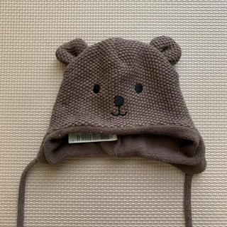 エイチアンドエム(H&M)のH&M クマさん帽子 0-2M(帽子)