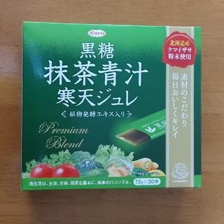 コーワ・黒糖抹茶寒天ジュレ