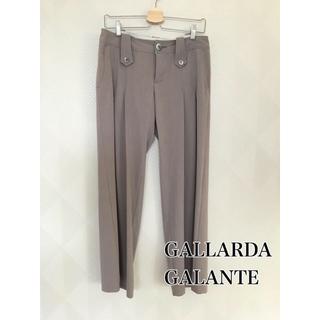 ガリャルダガランテ(GALLARDA GALANTE)のGALLARDA GALANTE ガリャルダガランテ  タックワイドパンツ(カジュアルパンツ)