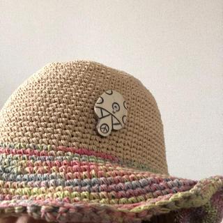 チチカカ(titicaca)のチチカカ 帽子 綿100%(麦わら帽子/ストローハット)