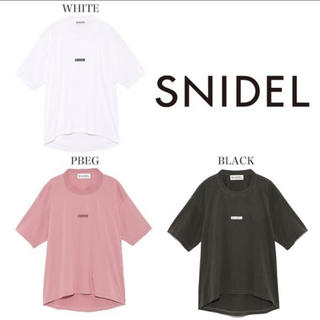 snidel - SNIDELロゴTシャツ
