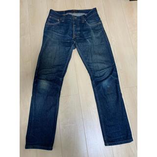 Nudie Jeans - nudie jeans メンズ ノンウォッシュデニム ストレート W28